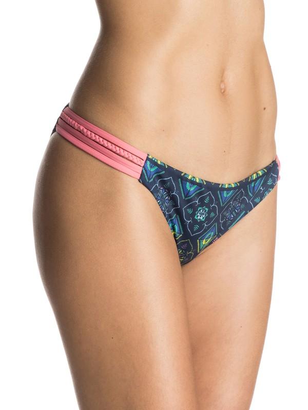 0 Flower Square Heart Bikini Bottoms  ERJX403127 Roxy