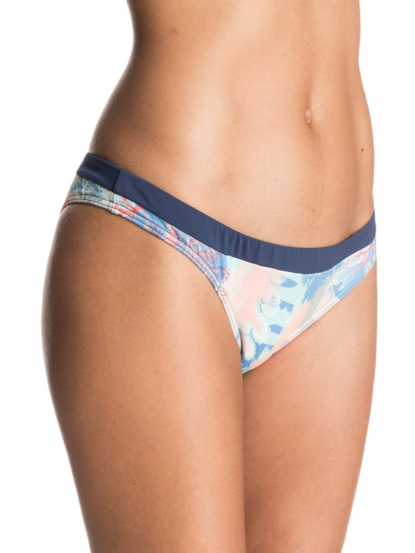 0 Undersea Surfer Bikini Bottoms Blue ERJX403183 Roxy