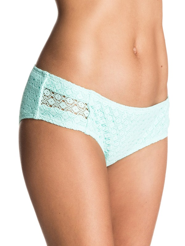 0 Dotted Crochet 70's Shorty Bikini Bottoms  ERJX403196 Roxy