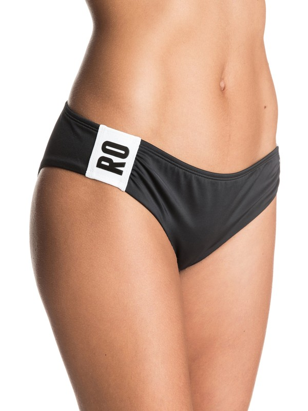 0 Sand To Sea Scooter Bikini Bottoms Black ERJX403207 Roxy