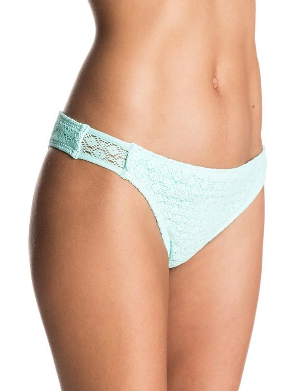 0 Dotted Crochet Mini Bikini Bottoms  ERJX403235 Roxy