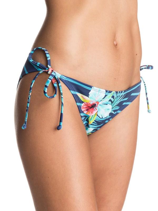 0 Exotic Lines Tie Side Bikini Bottoms  ERJX403239 Roxy
