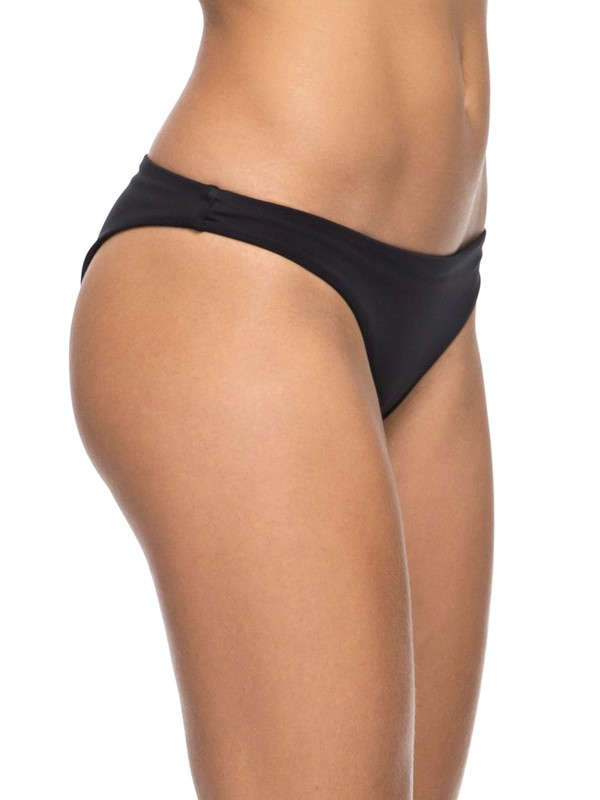 0 Keep It ROXY - Surfer Bikini Bottoms Black ERJX403476 Roxy