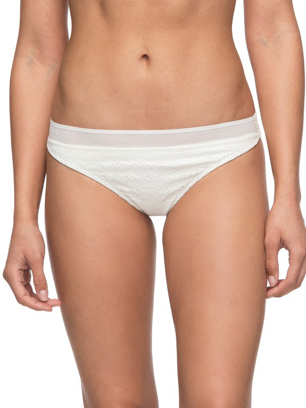 0 Surf Bride Surfer Bikini Bottoms White ERJX403496 Roxy