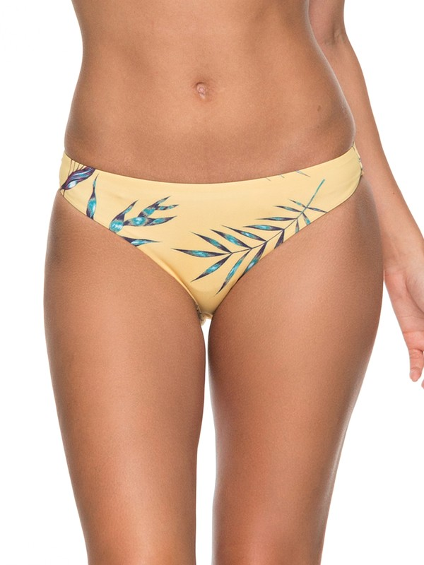 Printed Softly Love Reversible Surfer Bikini Bottoms by Roxy