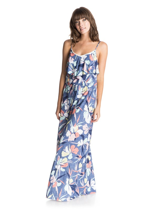0 Easy Tropical Long Cover Up  ERJX603007 Roxy