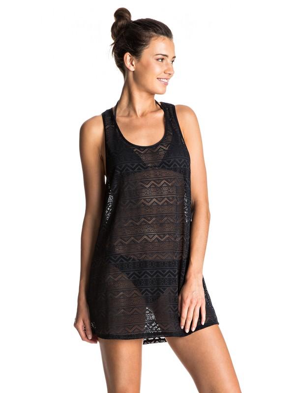 0 Crochet Easy Beach  Cover Up  ERJX603063 Roxy