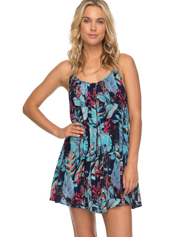 0 Windy Fly Away - Strappy Dress Blue ERJX603106 Roxy
