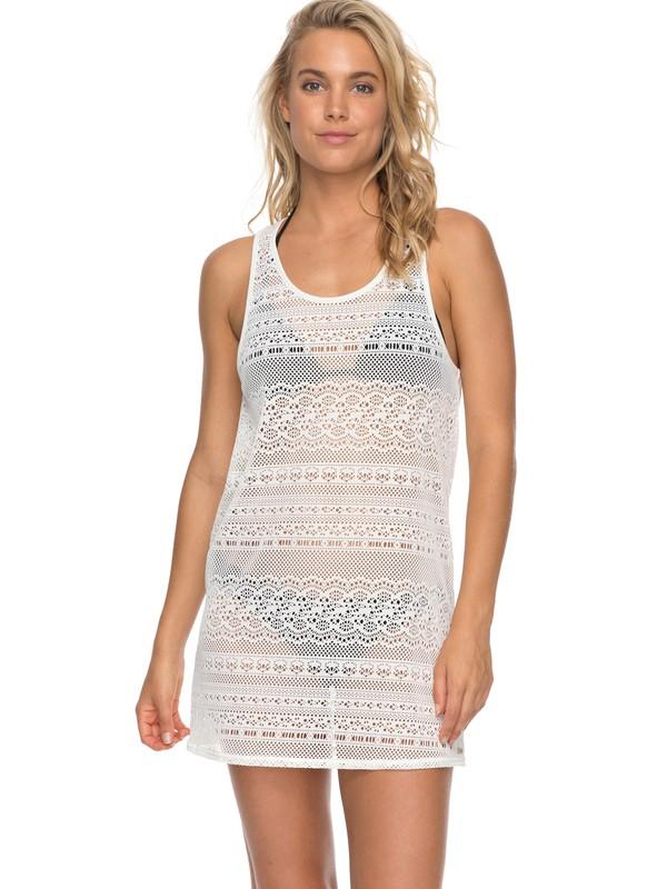 0 Surf Memory Crochet Cover Up White ERJX603109 Roxy