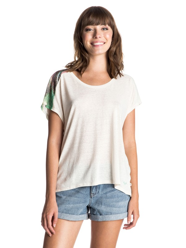 0 Fashion Dolman Palm Sundays Tee  ERJZT03403 Roxy