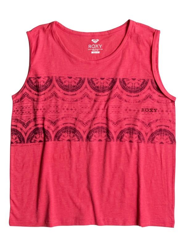 0 Happy Mahalo - Sleeveless T-Shirt  ERJZT03710 Roxy