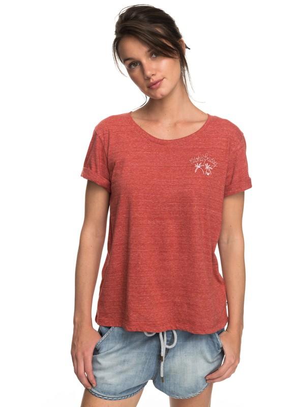 0 Wild Alcyons B - T-Shirt Orange ERJZT04153 Roxy