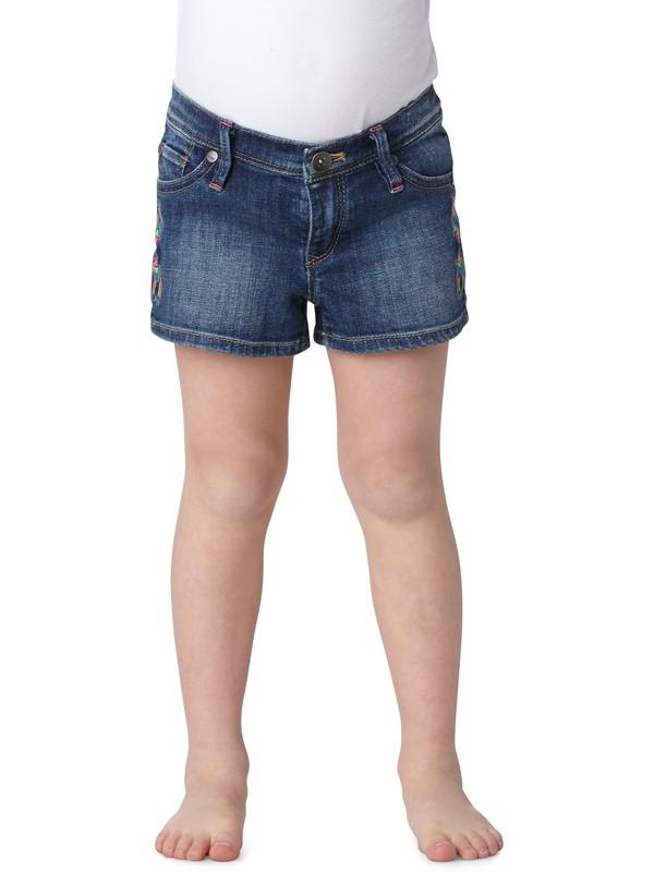 0 Girls 2-6 Lisy Embellished Shorts  ERLDS00001 Roxy