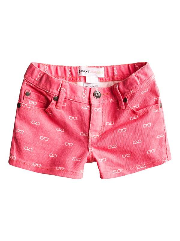 0 Girls 2-6 Lisy Print Shorts  ERLDS00006 Roxy