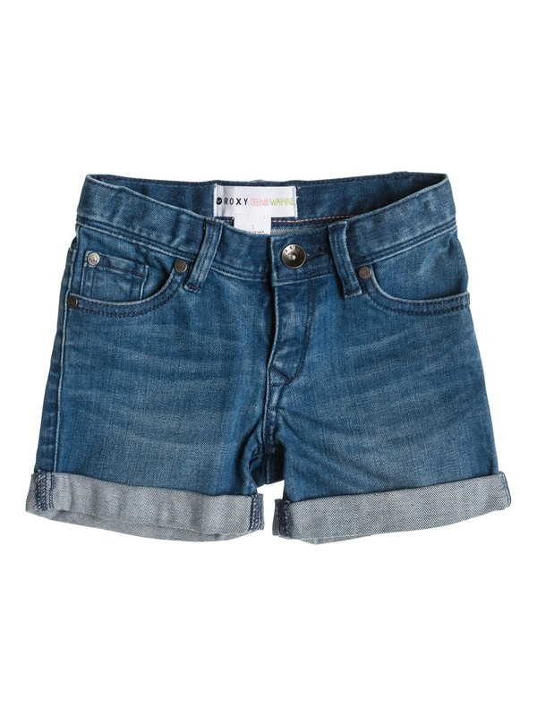 0 Girls 2-6 Selah Bright Blue Shorts  ERLDS03001 Roxy