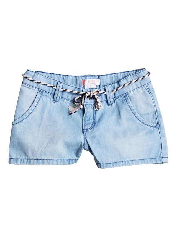 0 Girls 2-6 Breathlessness Denim Shorts  ERLDS03019 Roxy