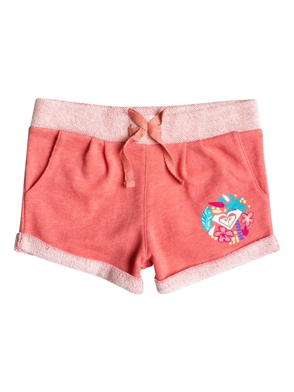0 Girls 2-6 Freshing Breezes Sweat Shorts  ERLFB03030 Roxy