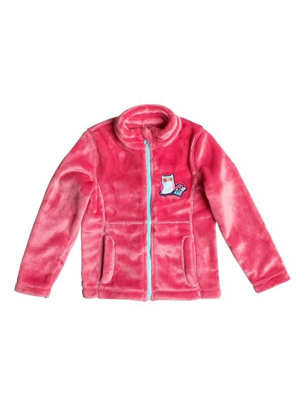 0 Girls 2-6 Igloo Zip Fleece  ERLFT03081 Roxy