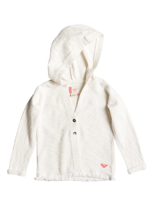 0 Girls 2-6 Girlish Laugh Button Up Hoodie  ERLFT03097 Roxy