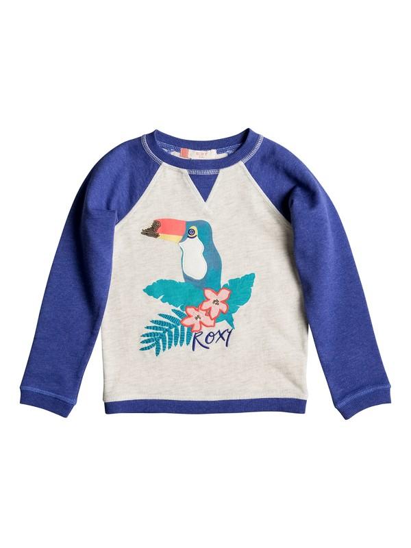 0 Girls 2-6 My Arms Around U Pullover Sweatshirt  ERLFT03100 Roxy