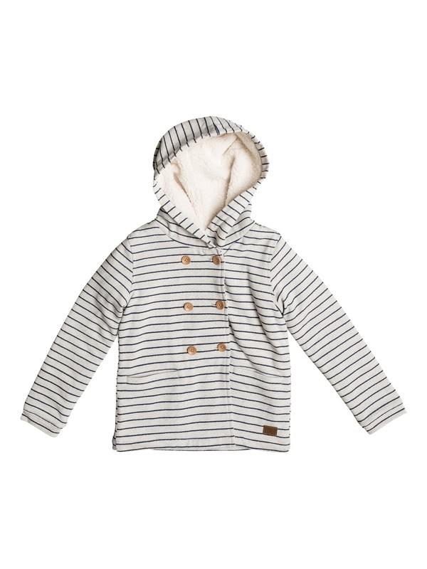 0 Miss The Boat - Longline Jersey Jacket Beige ERLFT03117 Roxy
