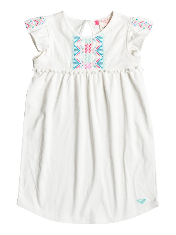 0 Girls 2-6 Break Out Border Dress  ERLKD03019 Roxy