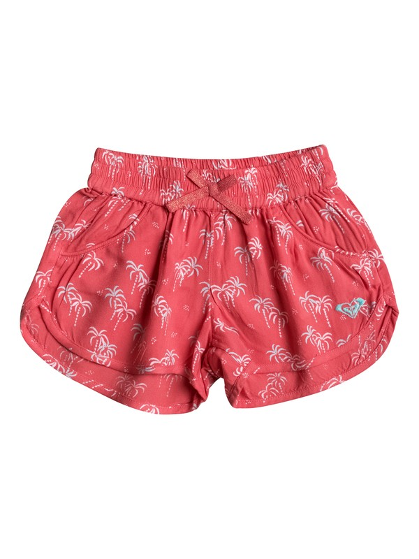 0 Girls 2-6 Meet Me In The City Beach Shorts  ERLNS03005 Roxy