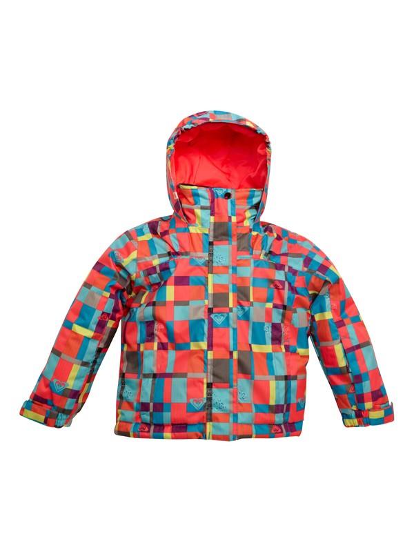 0 Girls 2-6 Mini Jetty Jacket Pink ERLTJ00002 Roxy