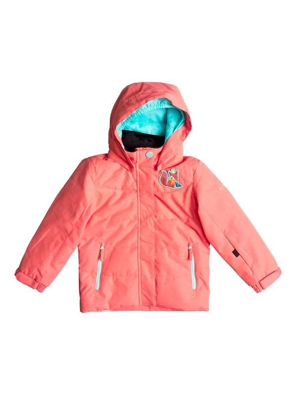 0 Girls 2-6 Anna Snow Jacket Orange ERLTJ03005 Roxy