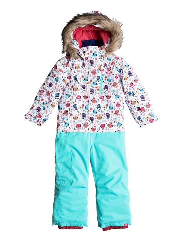 0 Girls 2-6 Paradise Snow Jumpsuit  ERLTS03001 Roxy