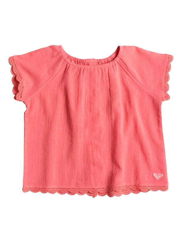 0 Girls 2-6 This Modern Love Short Sleeve Top  ERLWT03010 Roxy
