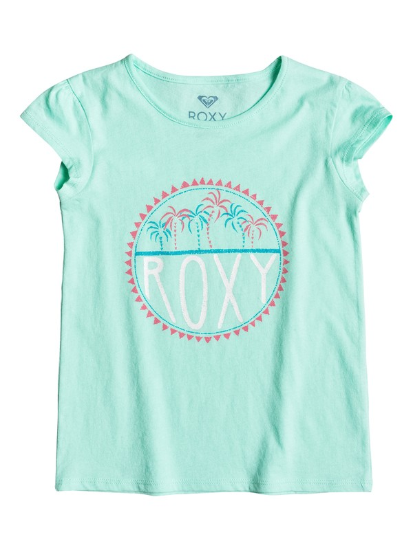 0 Girls 2-6 Moid Palm Tiny Tee  ERLZT03067 Roxy