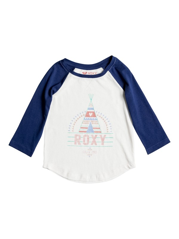 0 Girls 2-6 Dry The Rain Long Sleeve Tee  ERLZT03074 Roxy