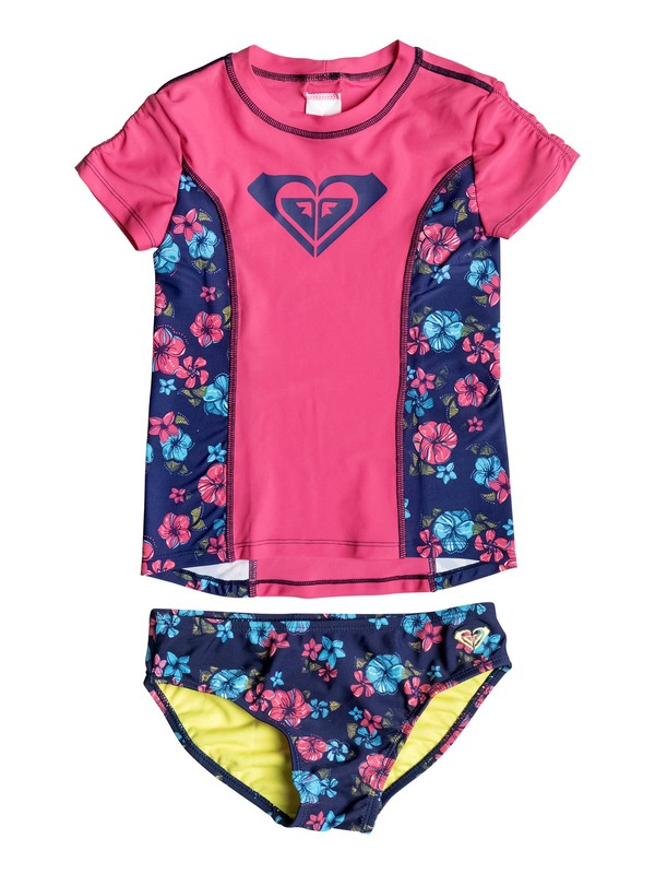 0 Baby Tropical Traditions Rashguard Set  PGRS60041 Roxy