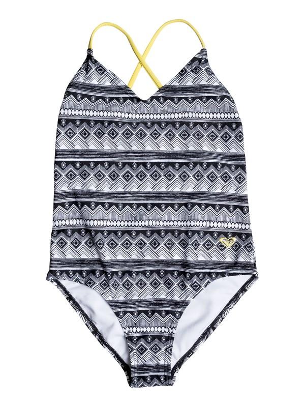 0 Girls 7-14 Gypsy Geo One-Piece Swimsuit  PGRS60407 Roxy