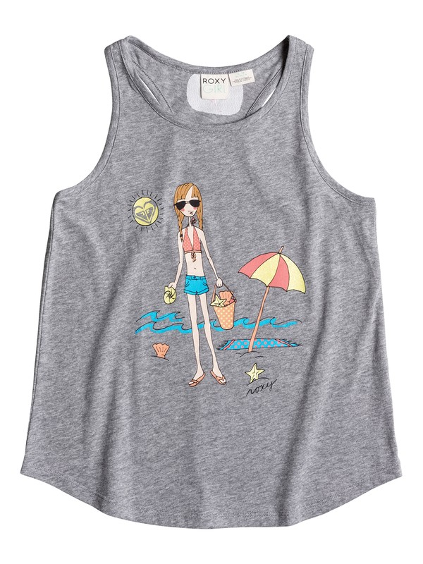 0 Girls 7-14 Seashell Seashore Tank  PGRS61217 Roxy
