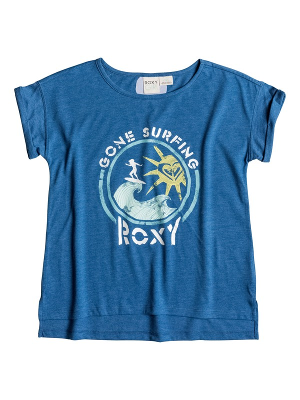 0 Girls 7-14 Gone Surfin' Tee  PGRS61247 Roxy