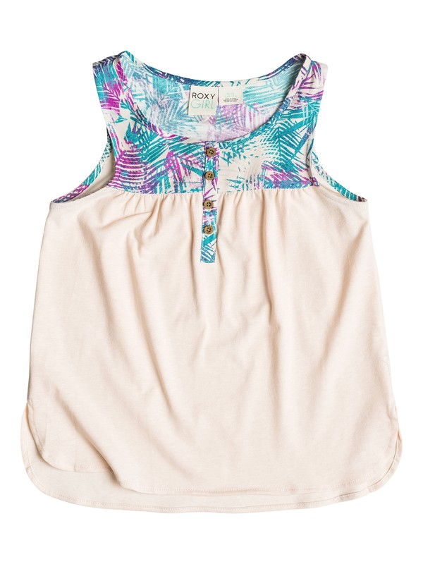 0 Girls 7-14 Starboard Sleeveless Top  PGRS61567 Roxy