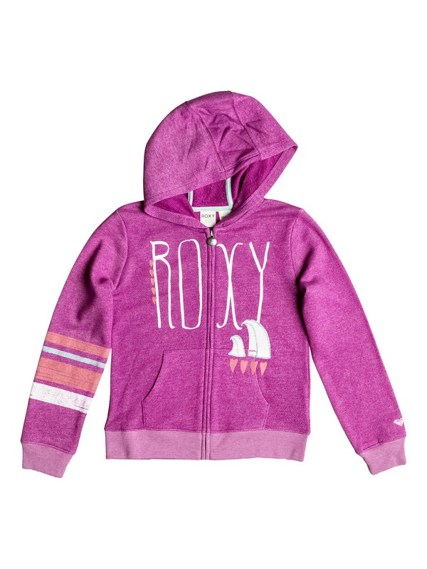 0 Girls 7-14 Classic Surf Zip-Up Hoodie  PGRS62057 Roxy