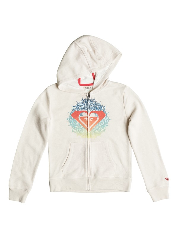 0 Girls 2-6 Henna Logo Zip-Up Hoodie  PGRS62196 Roxy