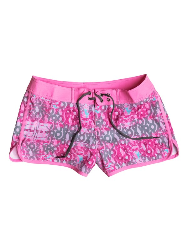 0 Girls 7-14 Altered Destination Boardshorts  PGRS65017 Roxy
