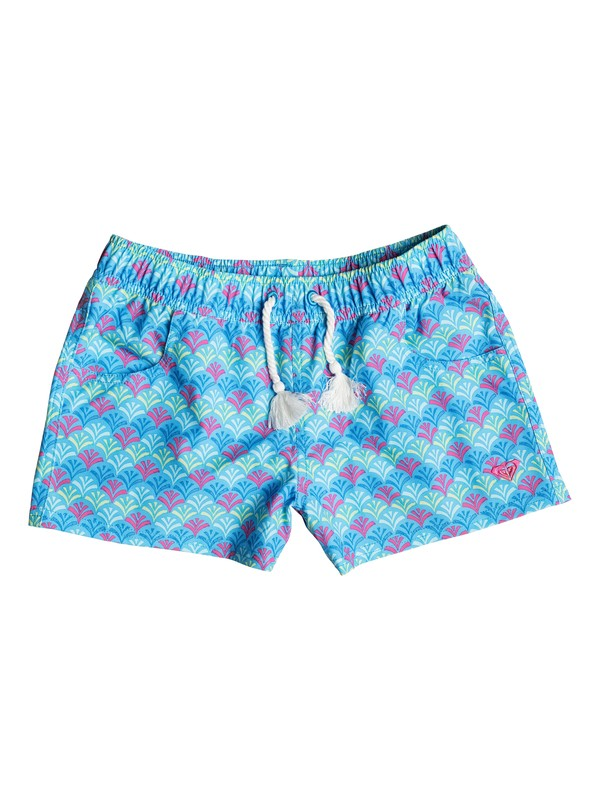 0 Girls 2-6 Island Tiles Boardshorts  PGRS65036 Roxy