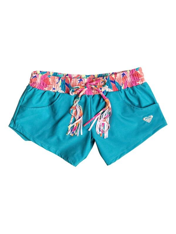 0 Girls 7-14 Boho Island Boardshorts  PGRS65067 Roxy
