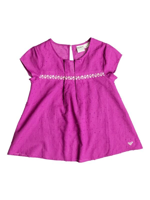0 Girls 7-14 Sunset Short Sleeve Top  PGRS65277 Roxy