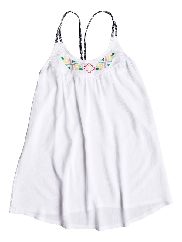 0 Girl's 7-14 Gypsy Geo Dress  PGRS68027 Roxy