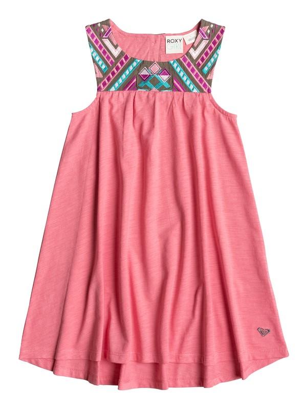 0 Girls 2-6 Sunny Sky Sleeveless Dress  PGRS68226 Roxy