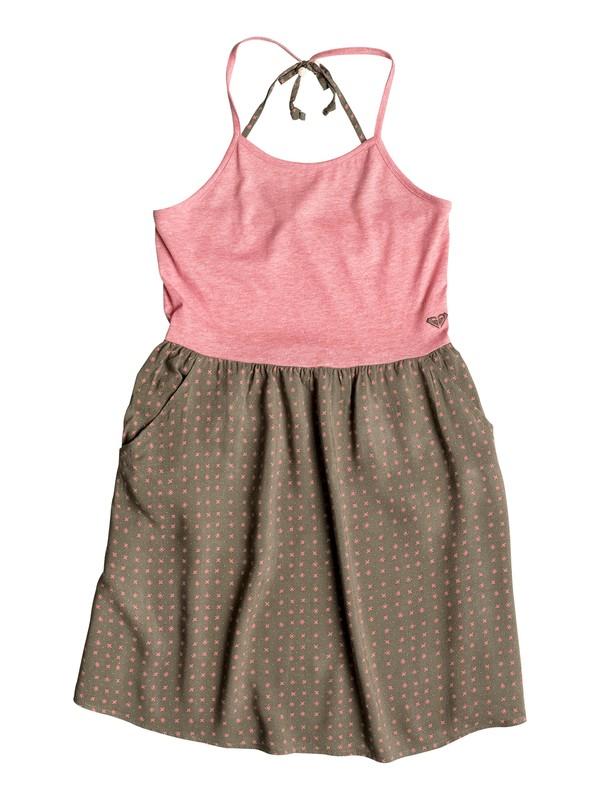 0 Girls 7-14 Sprint Sleeveless Dress  PGRS68237 Roxy