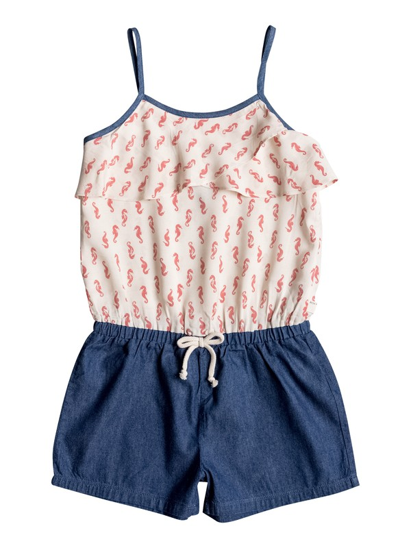 0 Girls 7-14 Rip Current Romper  PGRS68347 Roxy