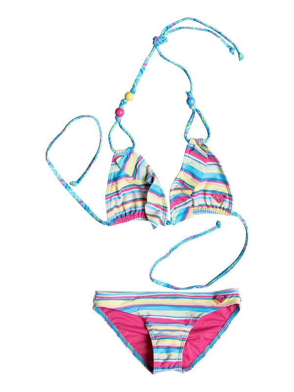 0 Baby Island Tiles Ruffle Bikini  PGRS68681 Roxy