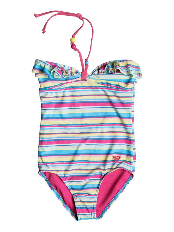 0 Girls 7-14 Island Tiles One-Piece Swimsuit  PGRS68737 Roxy